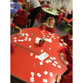 Playing snap- one more/less