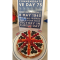 Grace's finished VE day cake.