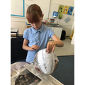 Indi has been busy making her own Dragon egg!