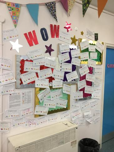 Reception 'Wow' moments