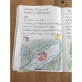 Lovely topic work from Ameila :-)