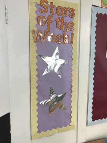 Every week I choose 2 stars of the week!