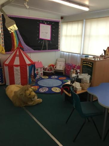 Soft Area in Nurture Room