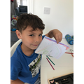 James has been busy making cards