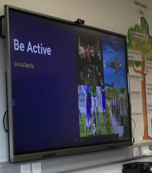 Step 2 - Be Active