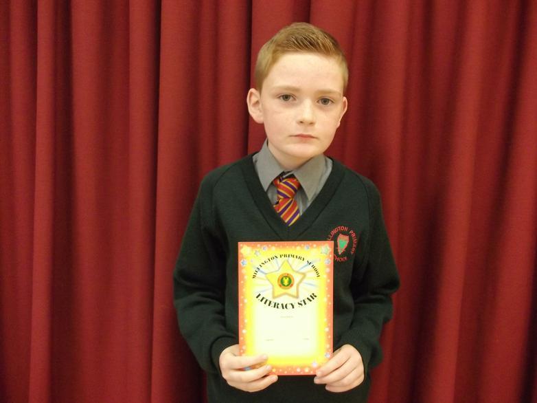 Tyler - Literacy Star