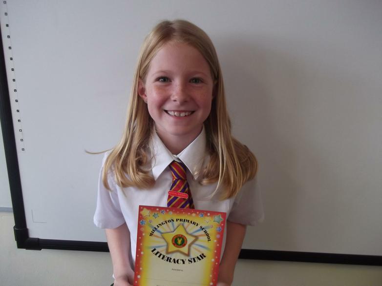 Rebecca - Literacy Star