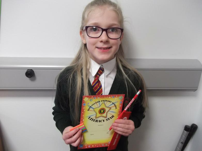 Poppy - Literacy Star