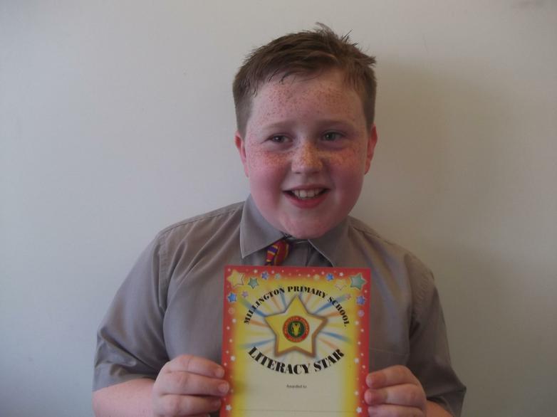 Jake - Literacy Star