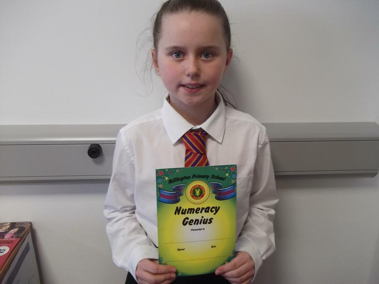 Emily - Numeracy Genius