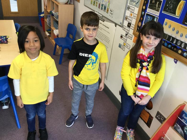 Roald Dahl's favourite colour is yellow!
