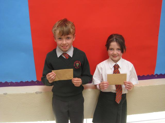 Assembly focusing on 'God gives gifts'