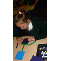 We used apparatus to create pictures.