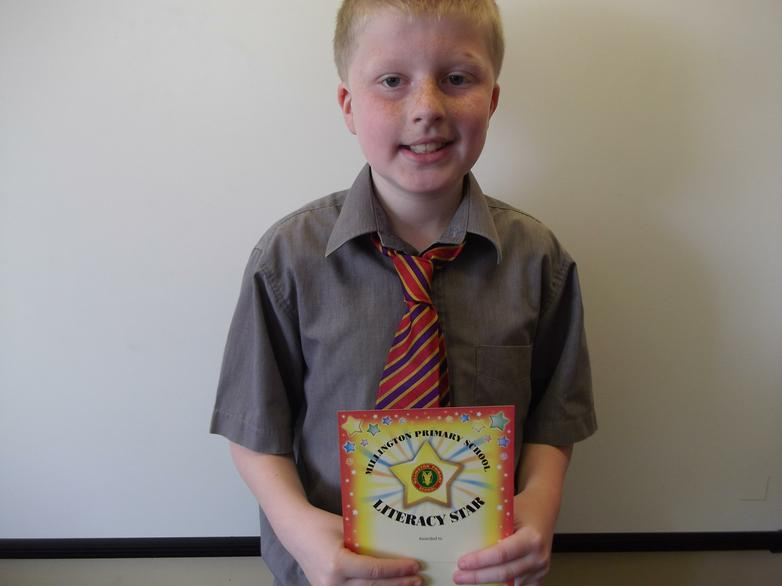 Timothy - Literacy Star