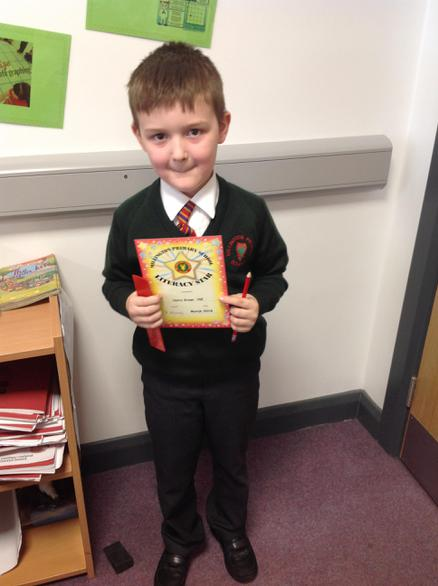 Literacy Star - Harry