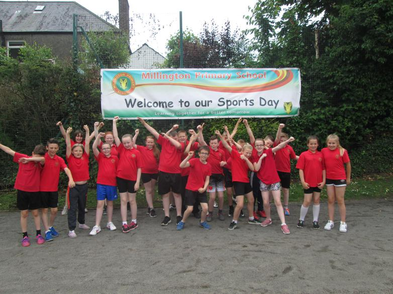 We love Sports Day