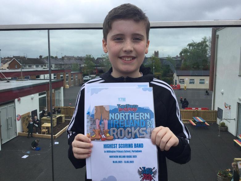 Highest Scoring Pupil in Northern Ireland