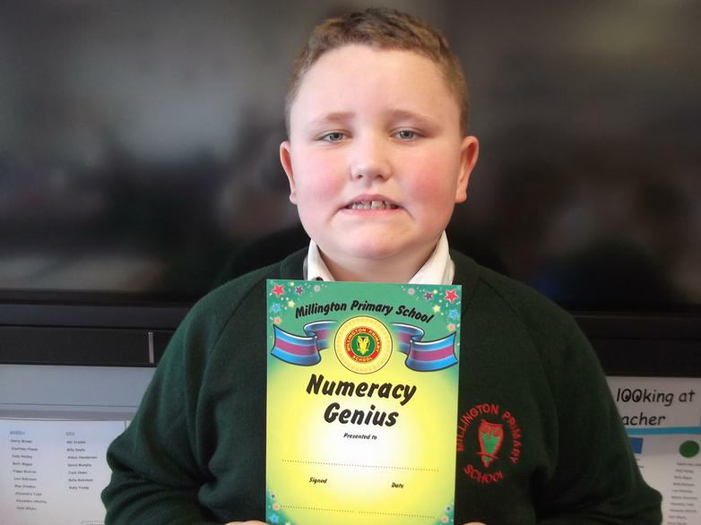 Harry - Numeracy Star