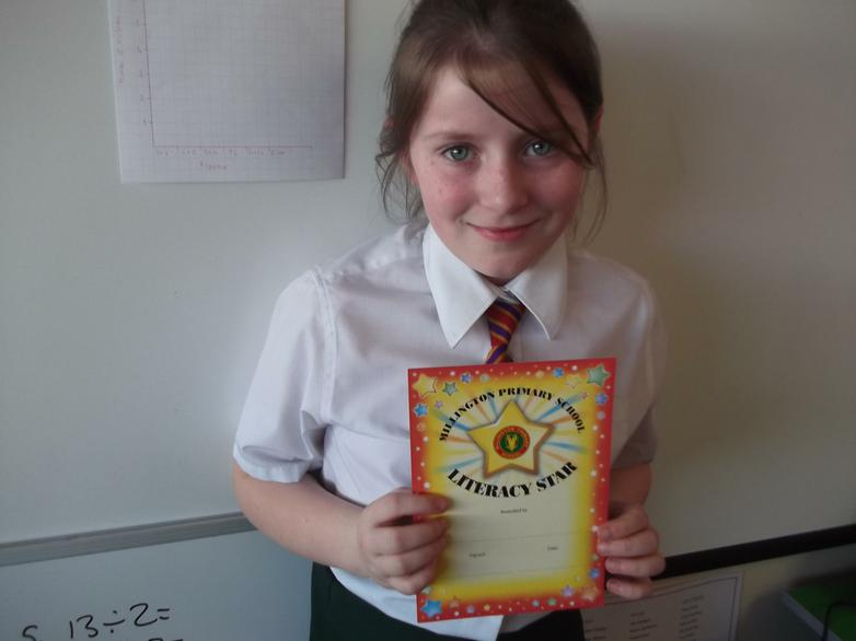 McKenzy - Literacy Star