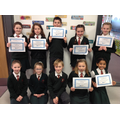 Accelerated reading certificates