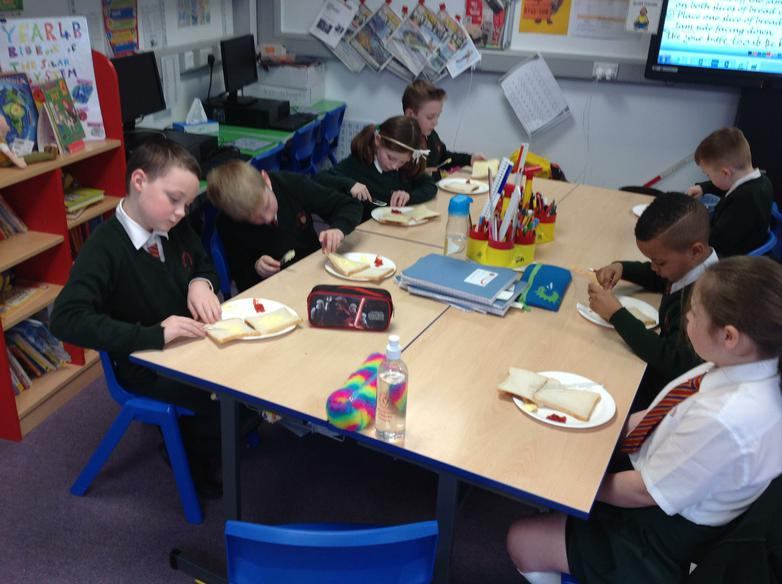 We followed each step of the instructions carefully
