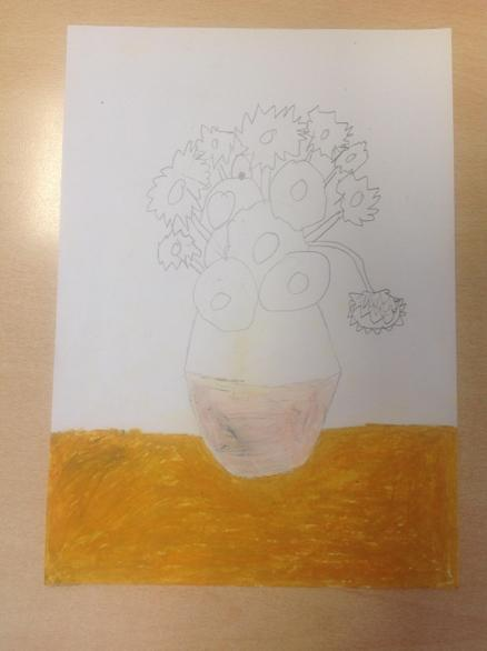Jessica showed a real flair for colour mixing