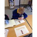 Developing pincer grasp in literacy.