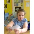 Grace talking about her understanding of an island