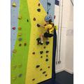 Natalie Climbing