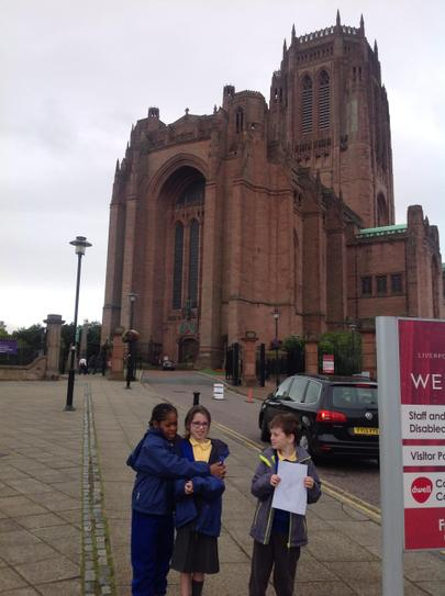 Finding Famous Liverpool Landmarks