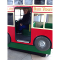I found my own bus to drive!