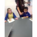 Mustafa enjoyed his hot dog