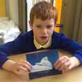Callum identified features of a cold island