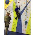 Ayman is great at climbing.