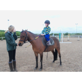 Callum has been cantering on his horse this term
