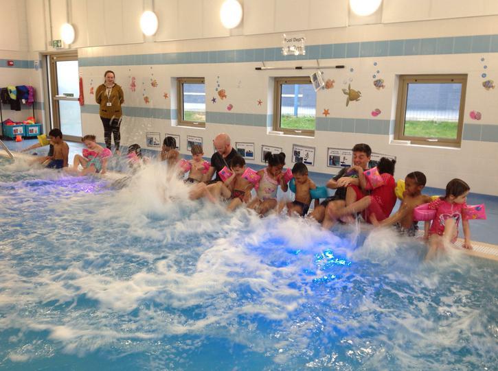 Splish, Splash! Developing our swimming skills.