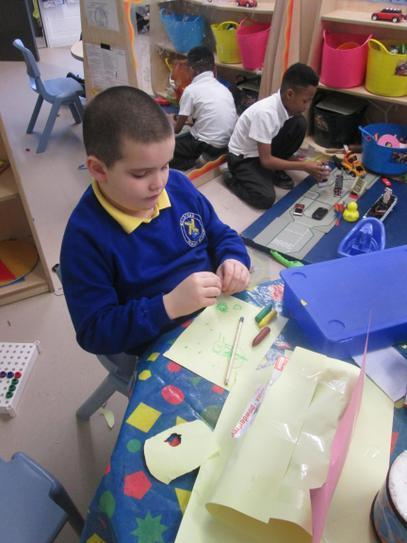 Joseph built a 'laptop' to put his 'dvd' in!