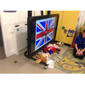 Our sensory story was about the Queen's birthday