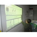 Finlay forming sentences using the IWB