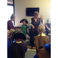 Captain Donna taught us about pirates.