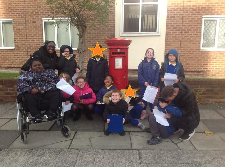 Postbox research!