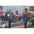 We Celebrated with a superheroes day