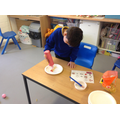 Tolaz completed a learnt task independently