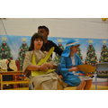 Holly Class does a scene from The Nativity Rocks
