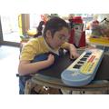 A future musician in Pippa!