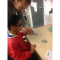 Ahmed chose shaving foam with support.
