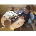 Ellis and Callum sorted their coins too.