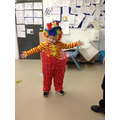 Clowning around in role play!