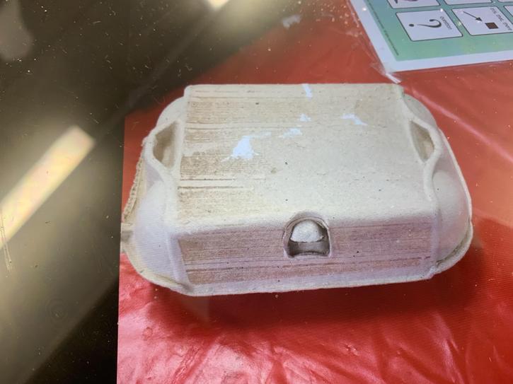 Step 1: Cardboard egg box