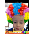 Donnie used the app to make himself a clown.